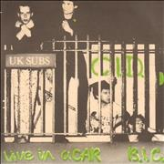 Click here for more info about 'U.K. Subs - C.I.D. - Blue Vinyl'