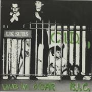 Click here for more info about 'U.K. Subs - C.I.D. - Yellow Vinyl'