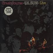 Click here for more info about 'U.K. Subs - Crash Course - Purple Vinyl'