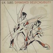 Click here for more info about 'U.K. Subs - Diminished Responsibility - Black Vinyl'