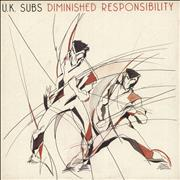 Click here for more info about 'U.K. Subs - Diminished Responsibility - Red Vinyl'