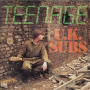 Click here for more info about 'U.K. Subs - Teenage - Pink Vinyl'