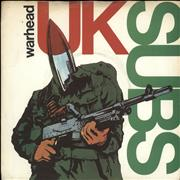 Click here for more info about 'U.K. Subs - Warhead - Brown Vinyl'