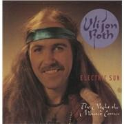 "Uli Jon Roth The Night The Master Comes - Poster Slv UK 7"" vinyl"