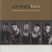 Click here for more info about 'Ultimate Kaos - Anything You Want (I've Got It)'