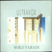 Click here for more info about 'Ultravox - '82/'83 World Tour Programme'