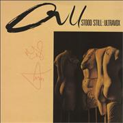 Click here for more info about 'Ultravox - All Stood Still - Autographed'