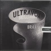 Click here for more info about 'Ultravox - Brilliant - Clear Vinyl - Sealed'