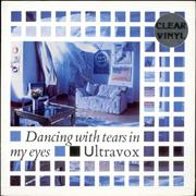 Click here for more info about 'Ultravox - Dancing With Tears In My Eyes - Clear Vinyl'