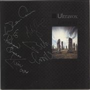 Click here for more info about 'Ultravox - Lament - Autographed'