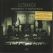 Click here for more info about 'Ultravox - Monument - The Soundtrack (Gold Promo Stamped)'