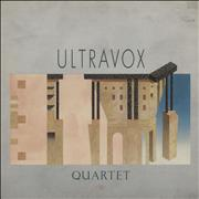 Click here for more info about 'Ultravox - Quartet - Gold Promo Stamped'