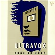 Click here for more info about 'Ultravox - Rage In Eden + Poster'