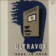 Click here for more info about 'Ultravox - Rage In Eden - Promo Stickered'