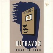 Click here for more info about 'Ultravox - Rage In Eden'