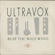 Click here for more info about 'Ultravox - Reap The Wild Wind - Injection'