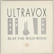 Click here for more info about 'Ultravox - Reap The Wild Wind - Solid + P/S'