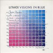 Click here for more info about 'Ultravox - Visions In Blue - Clear Vinyl'