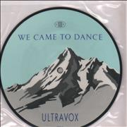 Click here for more info about 'Ultravox - We Came To Dance'