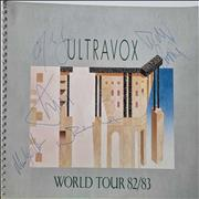 Click here for more info about 'Ultravox - World Tour 82/83 - Autographed'
