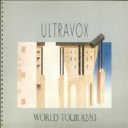 Click here for more info about 'Ultravox - World Tour 82/83'