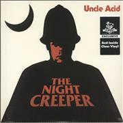 Click here for more info about 'Uncle Acid & The Deadbeats - The Night Creeper - Red Inside Clear Vinyl'
