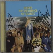 Click here for more info about 'Under the Influence Of Giants - Under The Influence Of Giants - Autographed'