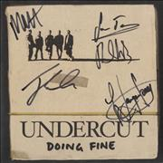 Click here for more info about 'Undercut - Doing Fine - Fully Autographed!'
