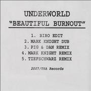 Click here for more info about 'Underworld - Beautiful Burnout'
