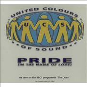 Click here for more info about 'United Colours Of Sound - Pride In The Name Of Love'