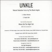 Click here for more info about 'Unkle - Natural Selection'