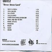 Click here for more info about 'Unkle - Never, Never, Land'