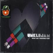 Click here for more info about 'Unklejam - What Am I Fighting For?'