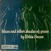 "Urbie Green Blues And Other Shades Of Green UK 7"" vinyl"