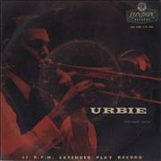 "Urbie Green East Coast Jazz Series 6 - Part 1 UK 7"" vinyl"