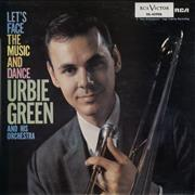 Urbie Green Let's Face The Music And Dance Spain vinyl LP