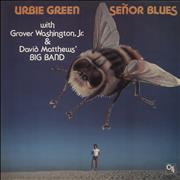 Urbie Green Señor Blues UK vinyl LP