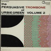 Urbie Green The Persuasive Trombone Of Urbie Green Volume 2 USA vinyl LP
