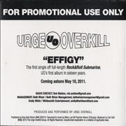 Click here for more info about 'Urge Overkill - Effigy'