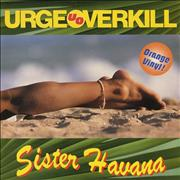 Click here for more info about 'Urge Overkill - Sister Havana - Orange Vinyl'