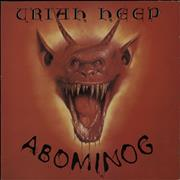 Click here for more info about 'Uriah Heep - Abominog - Promo stamped'