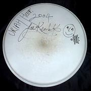 Click here for more info about 'Uriah Heep - Autographed Drumskin'