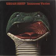 Click here for more info about 'Uriah Heep - Innocent Victim + Lyric Insert - EX'