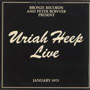 Click here for more info about 'Uriah Heep - Live + Inners - EX'