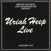 Click here for more info about 'Uriah Heep - Live - 1st - EX'