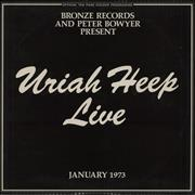 Click here for more info about 'Uriah Heep - Live - VG+'
