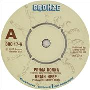 Click here for more info about 'Uriah Heep - Prima Donna - 'A' Label'