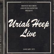 Click here for more info about 'Uriah Heep - Live '73'