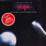 Click here for more info about 'Utopia (US) - Adventures In Utopia - Red Vinyl'
