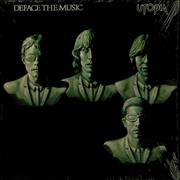 Click here for more info about 'Utopia (US) - Deface The Music'